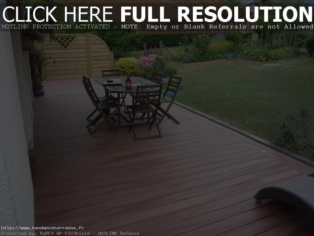 Terrasse composite nice