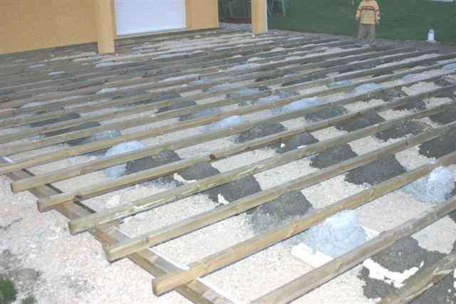 Terrasse composite sur plot beton nos conseils for Terrasse composite sur plot beton