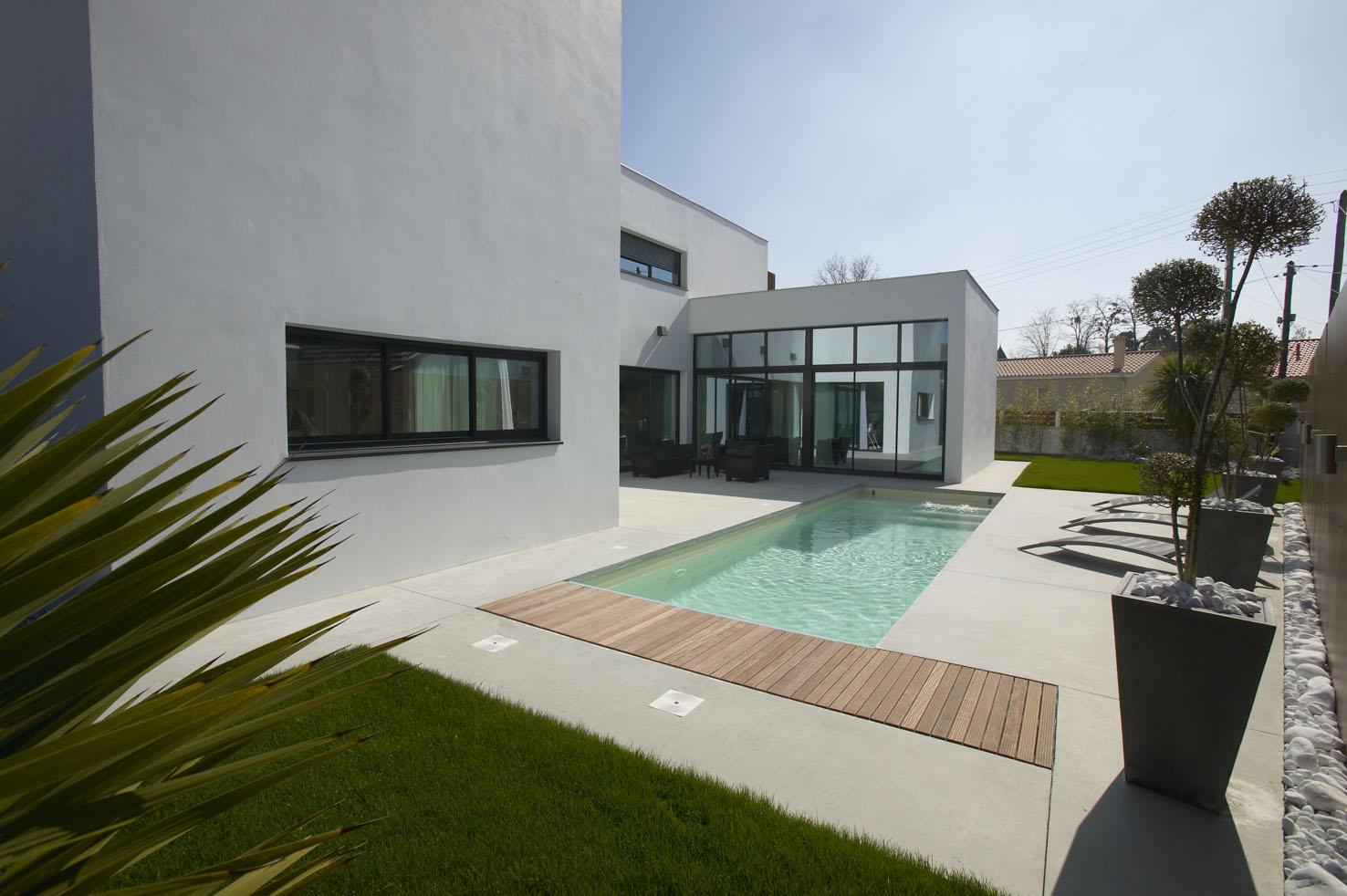 Terrasse contemporaine maison - Nos Conseils