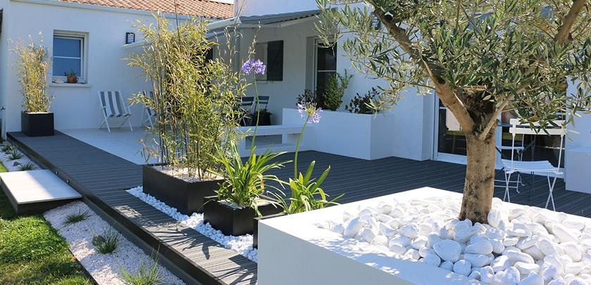 terrasse contemporaine photo