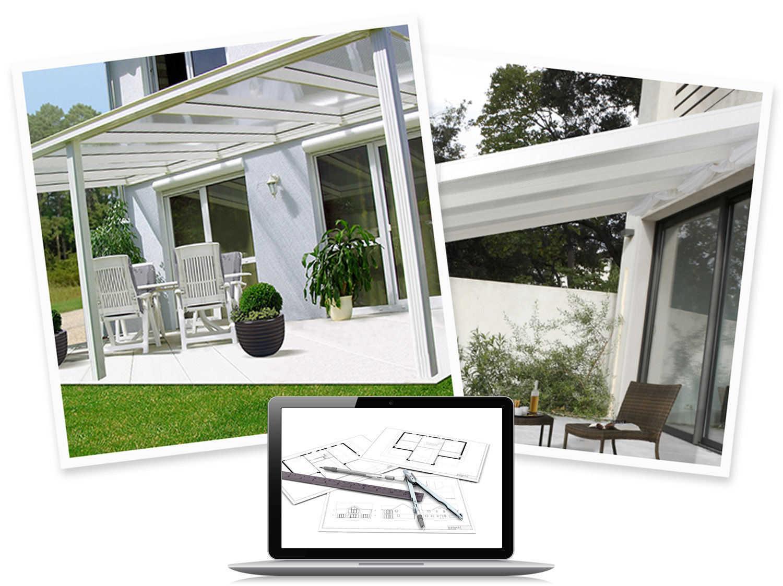 terrasse couverte cout nos conseils. Black Bedroom Furniture Sets. Home Design Ideas