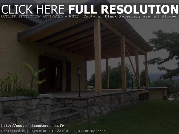 Terrasse Couverte En Bois  Nos Conseils