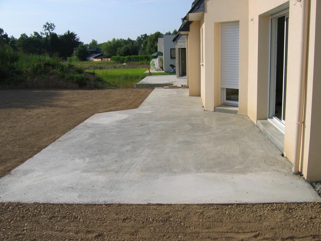 Terrasse dalle beton prix nos conseils - Dalle beton gazon prix ...