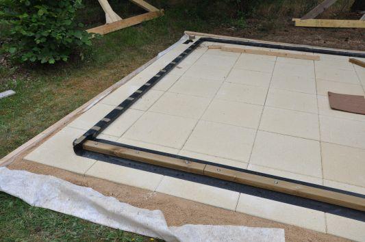 Terrasse dalle beton sur lit de sable nos conseils for Terrasse sur lit de sable