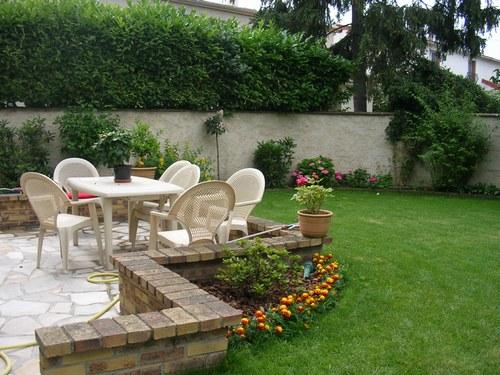Aménagement terrasse et jardin photo   Hotelauxsacresreims