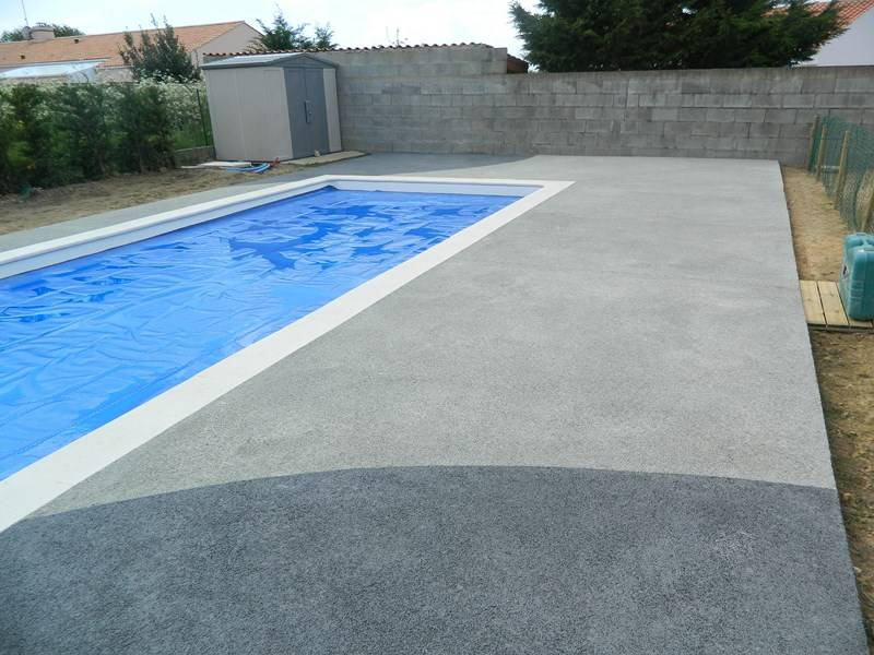 Terrasse De Piscine En Beton Nos Conseils - Modele de piscine en beton