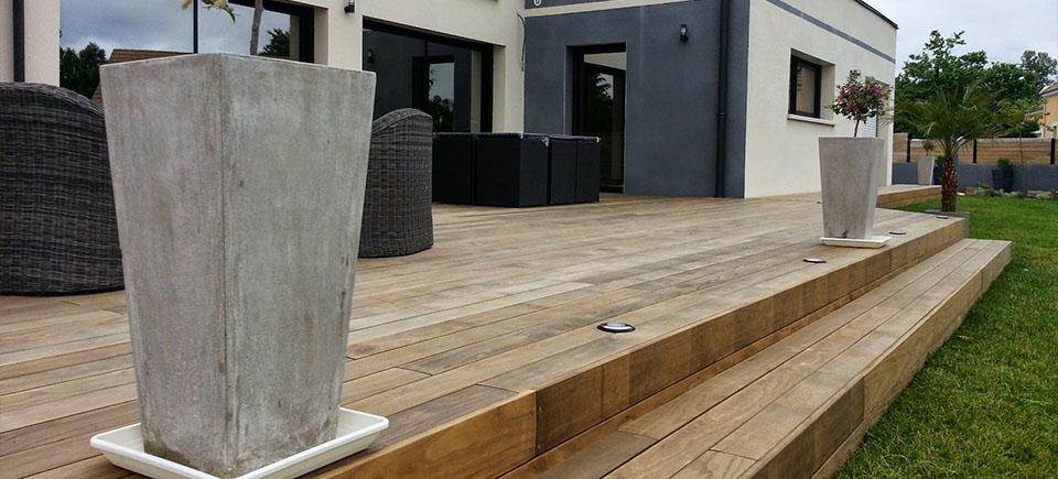terrasse en bois nos conseils. Black Bedroom Furniture Sets. Home Design Ideas