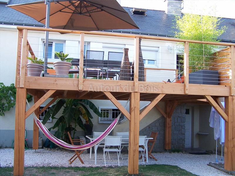 terrasse en bois pilotis prix nos conseils. Black Bedroom Furniture Sets. Home Design Ideas