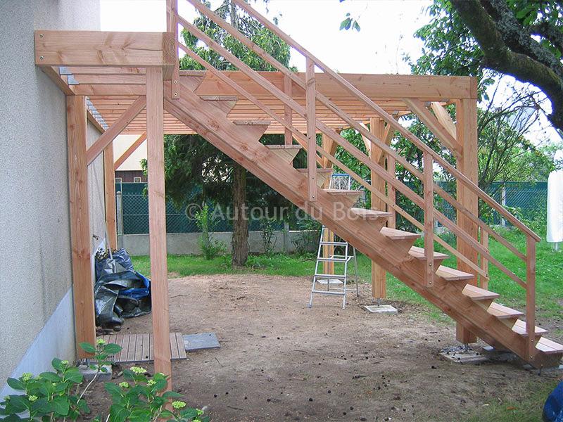 Terrasse en bois sur pilotis en kit prix nos conseils for Terrasse sur pilotis en bois