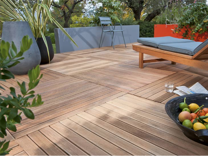 terrasse en bois sur pilotis leroy merlin nos conseils. Black Bedroom Furniture Sets. Home Design Ideas