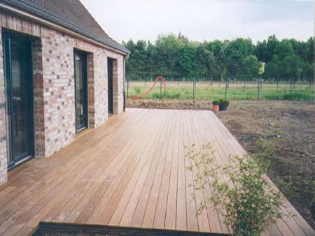 terrasse composite 100m2