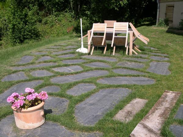 Faire Une Terrasse En Ardoise Veranda Styledevie Fr