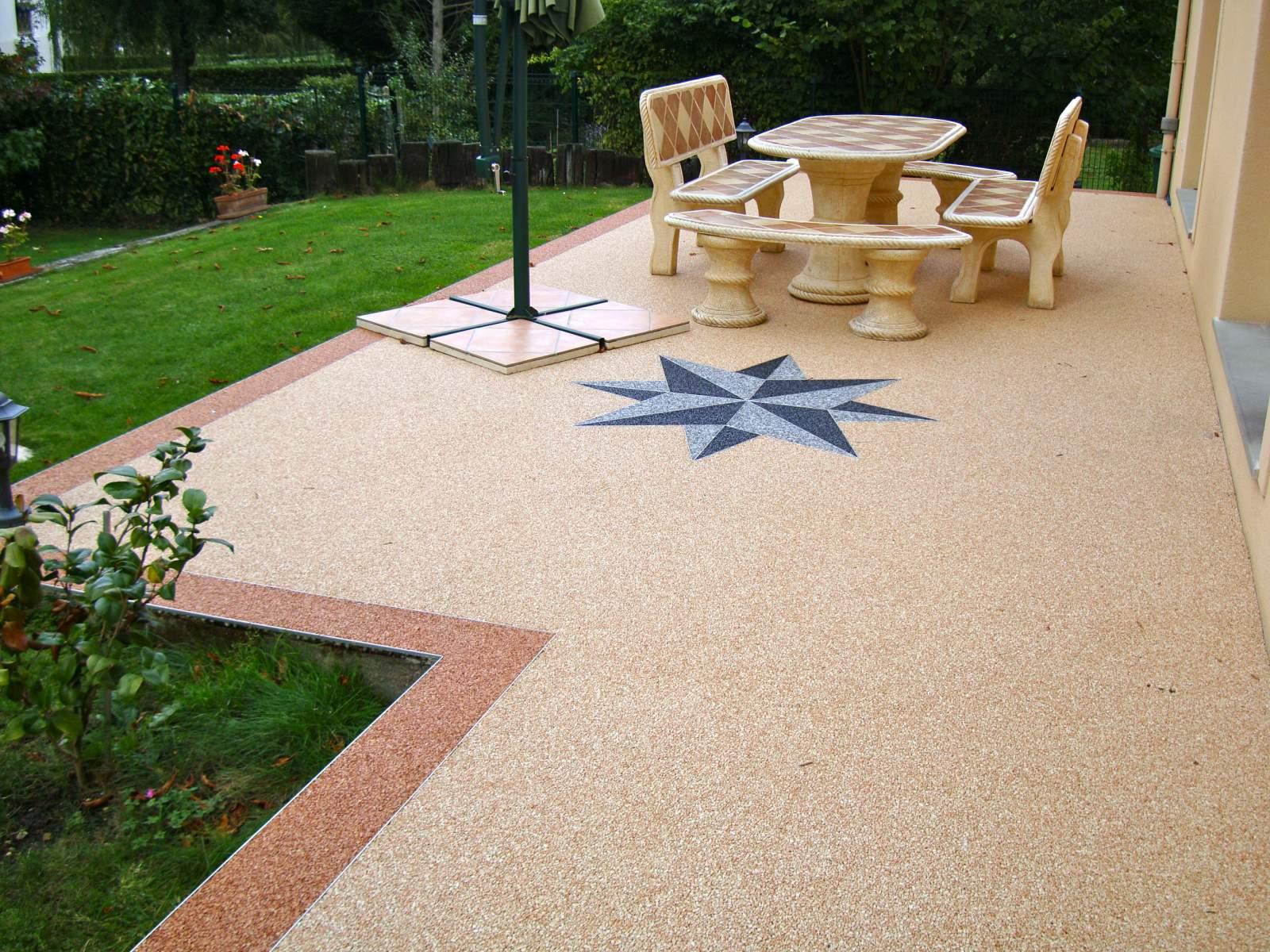 Terrasse en resine nos conseils - Salon pour terrasse exterieur ...