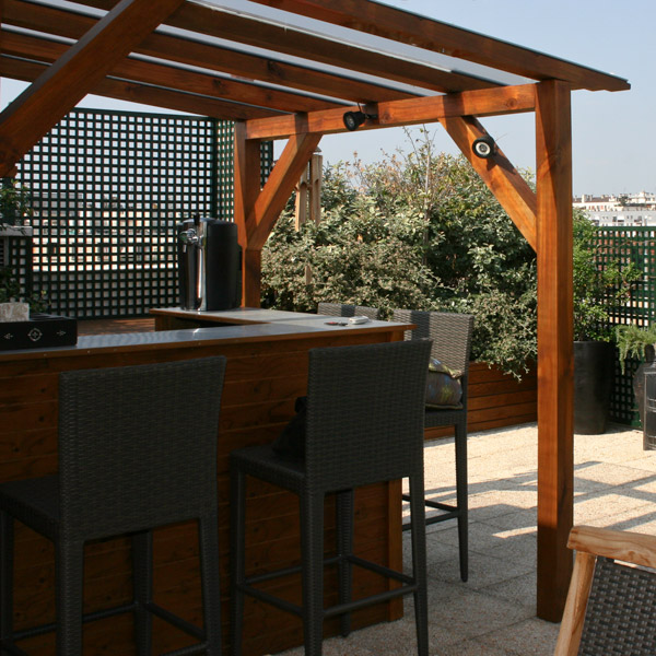 terrasse exterieure bar nos conseils. Black Bedroom Furniture Sets. Home Design Ideas