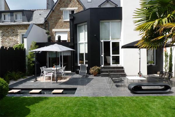 Terrasse exterieure contemporaine - Nos Conseils