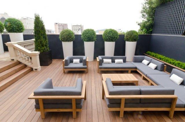 Terrasse exterieure moderne - Nos Conseils