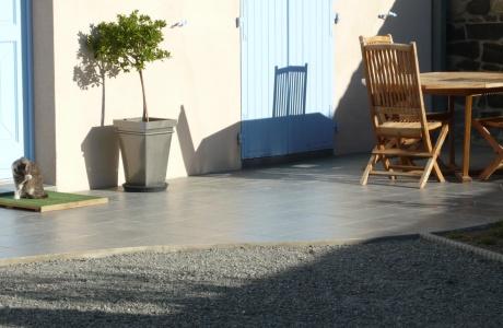 Peinture Terrasse Exterieur. Best Tarif Application De La Peinture