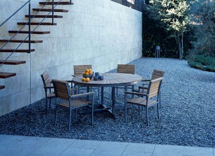 terrasse gravier rouge nos conseils. Black Bedroom Furniture Sets. Home Design Ideas