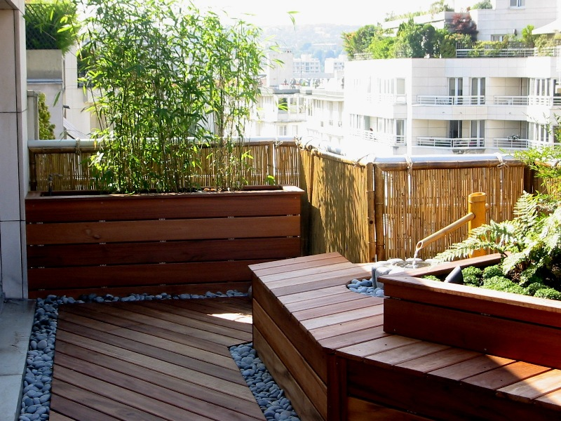 terrasse japonaise zen