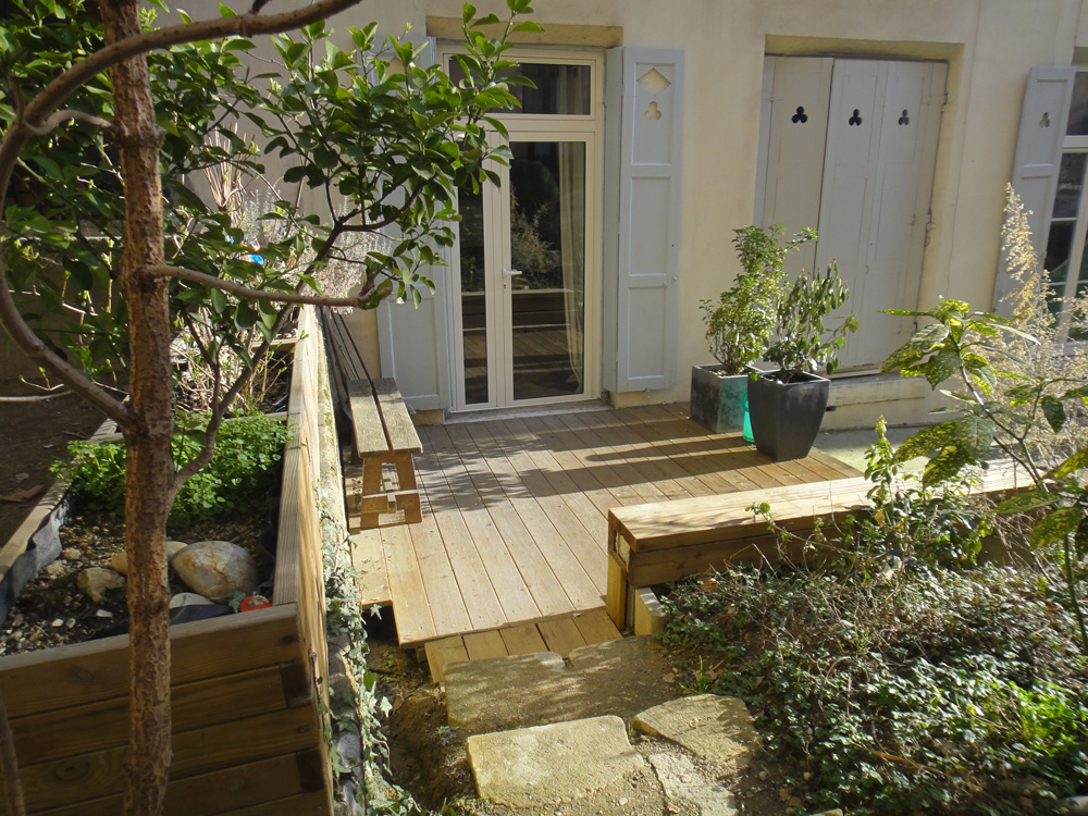 Terrasse jardin agence immobiliere - Nos Conseils