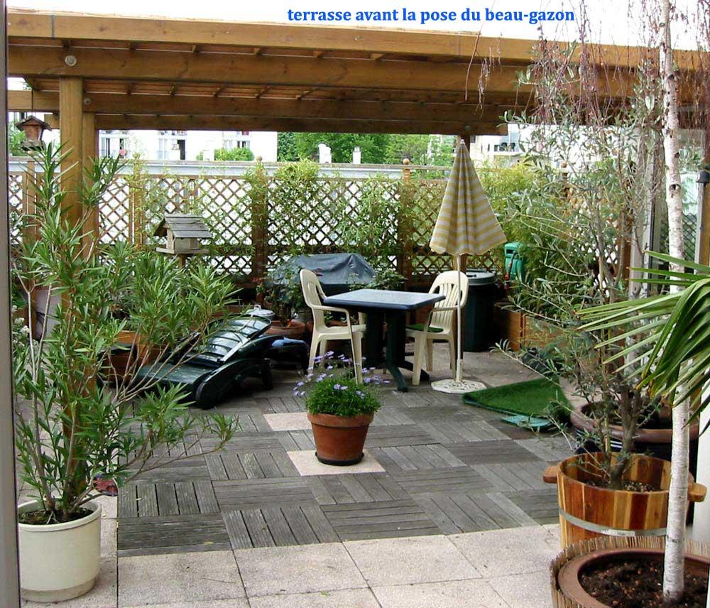 Terrasse jardin appartement nos conseils for Terrasse jardin