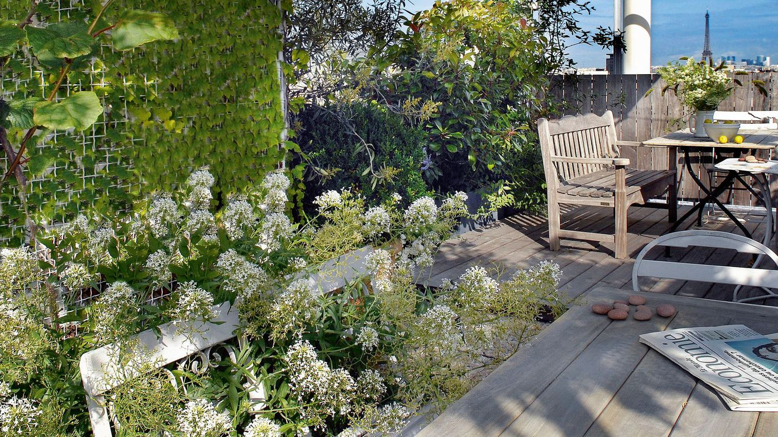 Terrasse jardin budget nos conseils for Jardin avec terrasse