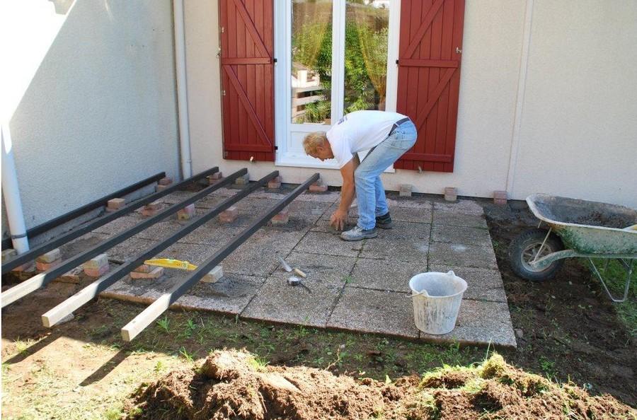 Terrasse jardin en composite nos conseils - Terrasses en composite ...