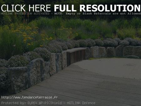 Terrasse jardin en pierre - Nos Conseils