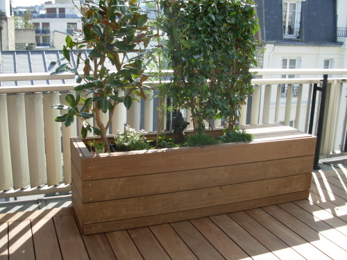 Terrasse jardiniere nos conseils for Objectif bois cloison japonaise