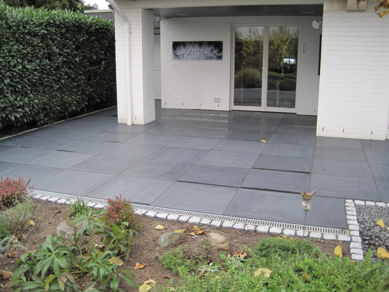 Terrasse Granit : Und Terrasse Bollmeyer Bau Gmbh In Terrasse Mit Granit  Nos Conseils