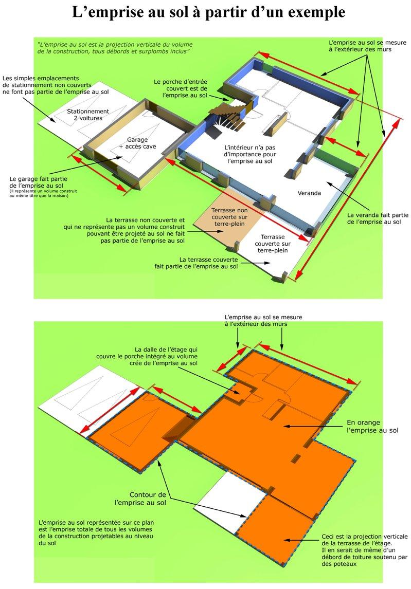 Terrasse non couverte surface de plancher nos conseils - Garage et surface de plancher ...