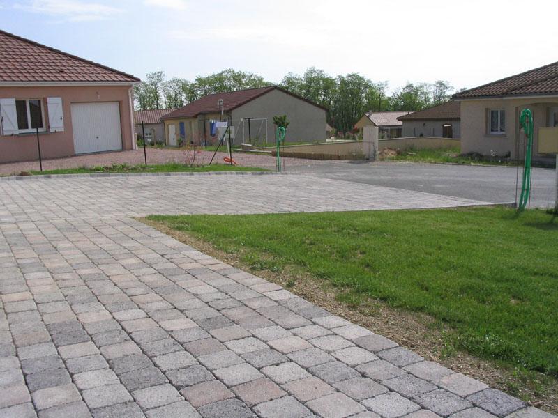 Terrasse pave lit de sable nos conseils - Pose pave sur dalle beton ...
