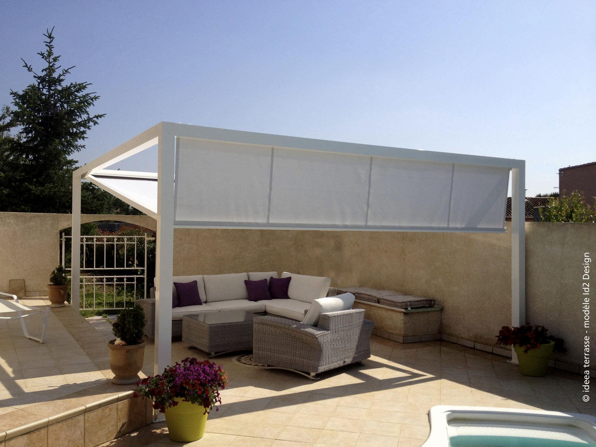 terrasse pergola design nos conseils. Black Bedroom Furniture Sets. Home Design Ideas