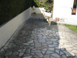Terrasse pierre noircie nos conseils - Comment nettoyer de l argenterie noircie ...