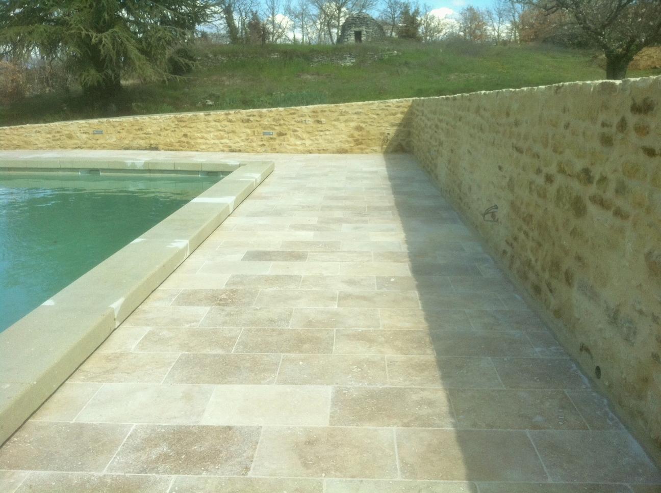 Terrasse pierre travertin - Nos Conseils