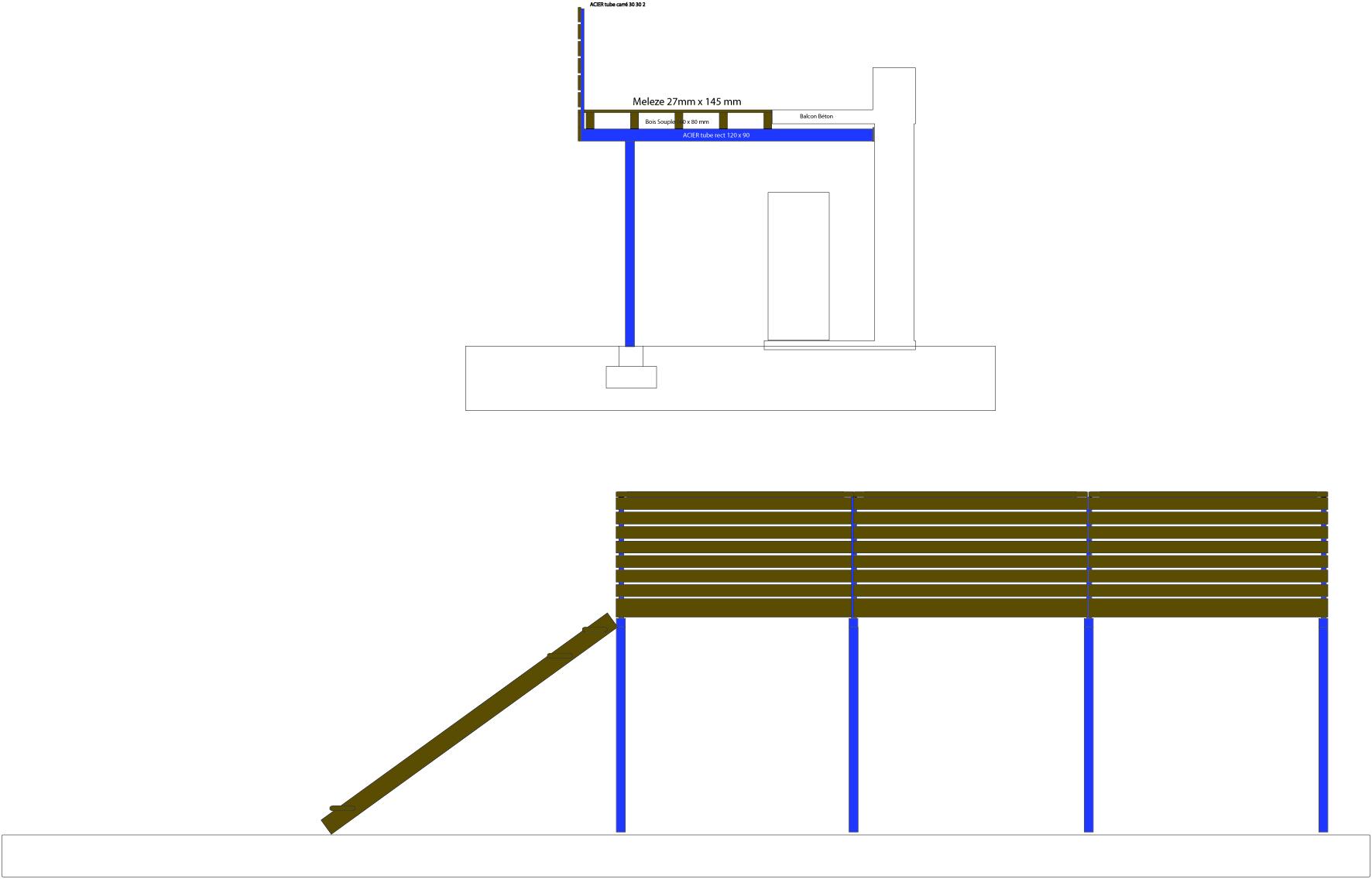 ... Terrasse Pilotis Calcul Nos Conseils For Calcul Dalle Beton Terrasse ...