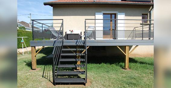 Terrasse pilotis composite - Nos Conseils