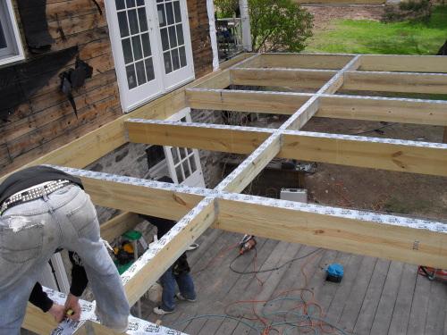 Terrasse pilotis construction Nos Conseils # Construction Terrasse Bois Sur Pilotis