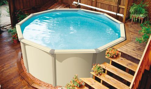 Terrasse piscine hors sol acier nos conseils for Terrasse de piscine hors sol