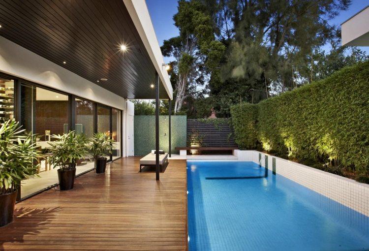Emejing Jardin Avec Piscine Design Images - Payn.us - payn.us
