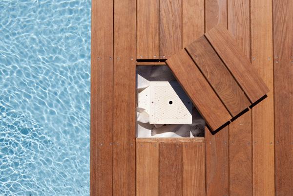 Terrasse piscine skimmer nos conseils for Objectif bois cloison japonaise