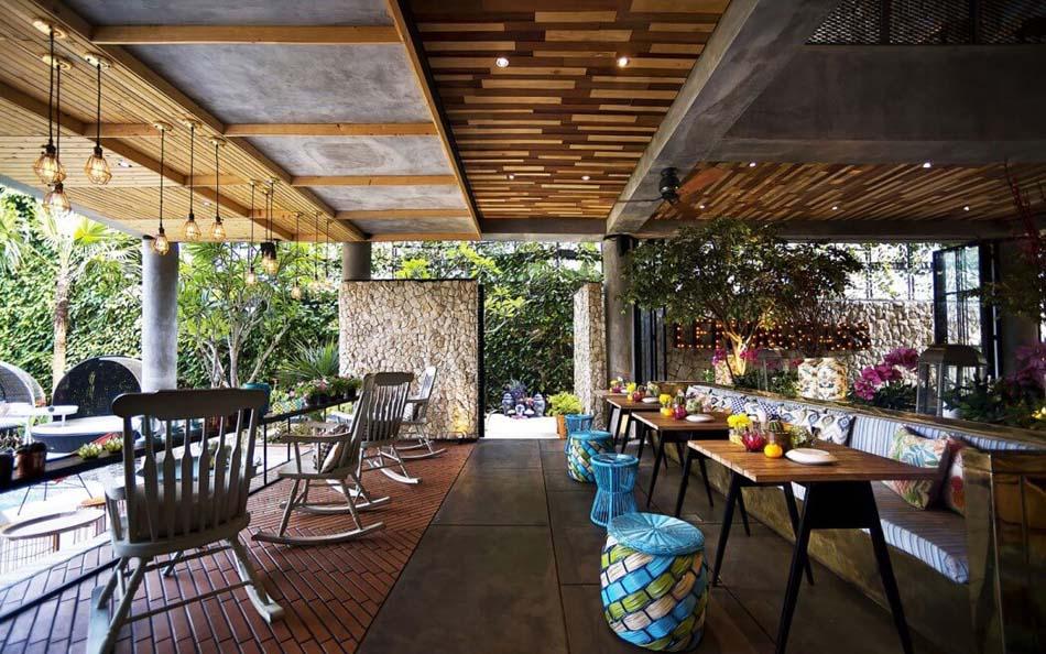terrasse restaurant design