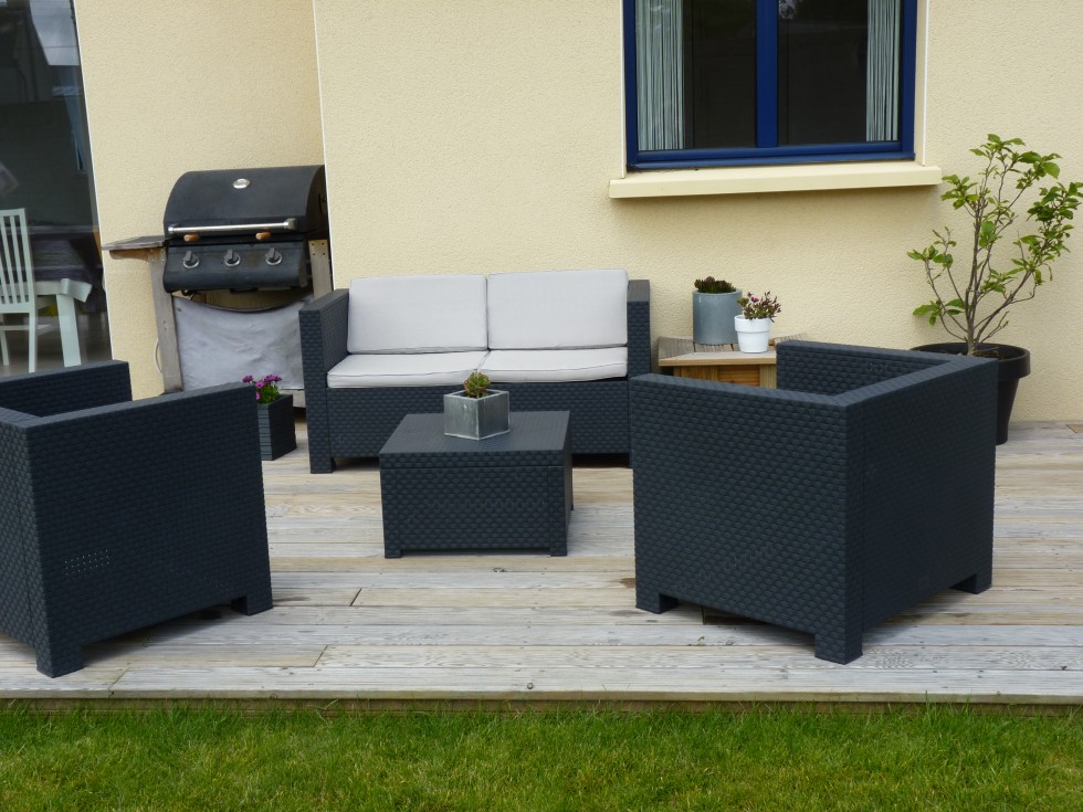 terrasse salon jardin nos conseils. Black Bedroom Furniture Sets. Home Design Ideas