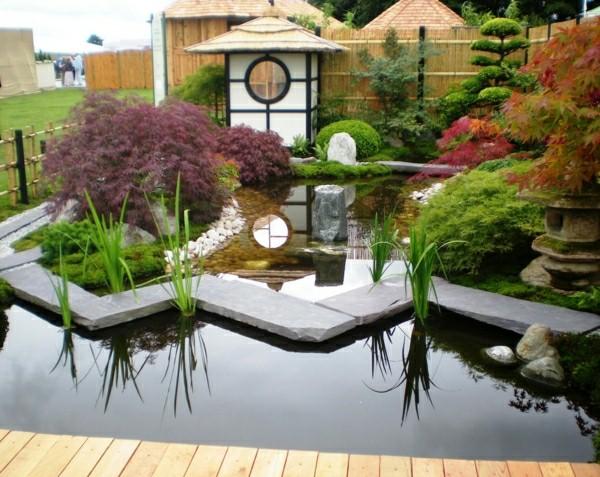 terrasse style japonais nos conseils. Black Bedroom Furniture Sets. Home Design Ideas