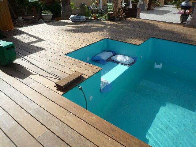 Crédits photos Terrasse sur pilotis autour piscine hors sol
