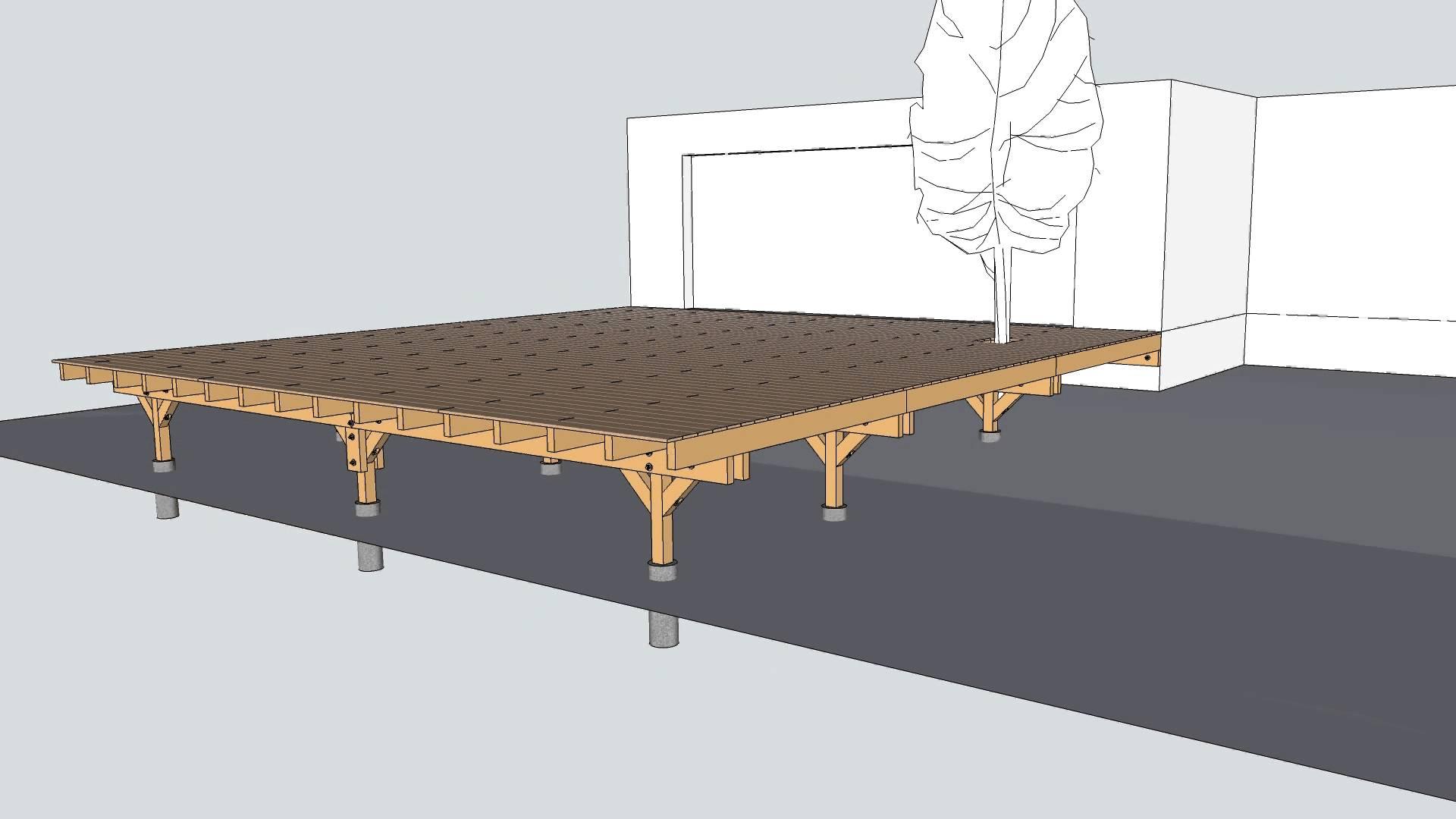 terrasse sur pilotis en beton avec image ou video nos conseils. Black Bedroom Furniture Sets. Home Design Ideas