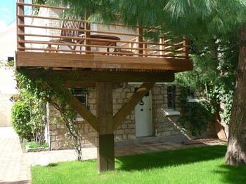 Terrasse sur pilotis permis de construire nos conseils - Permis de construire terrasse ...