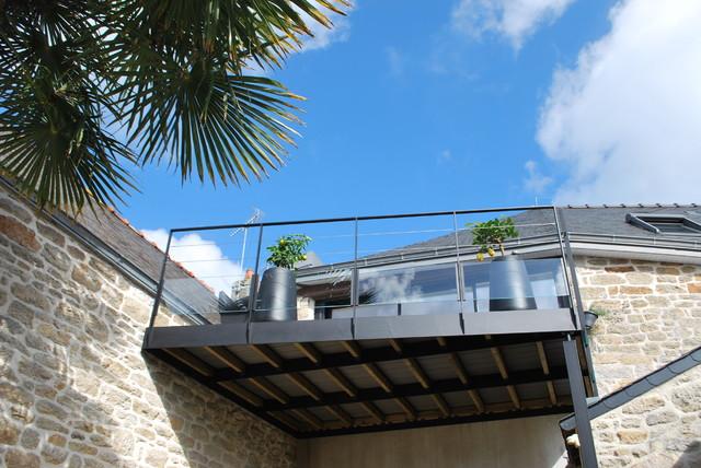 terrasse suspendue design nos conseils. Black Bedroom Furniture Sets. Home Design Ideas