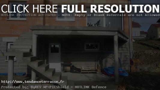 Terrasse Suspendue En Beton  Nos Conseils