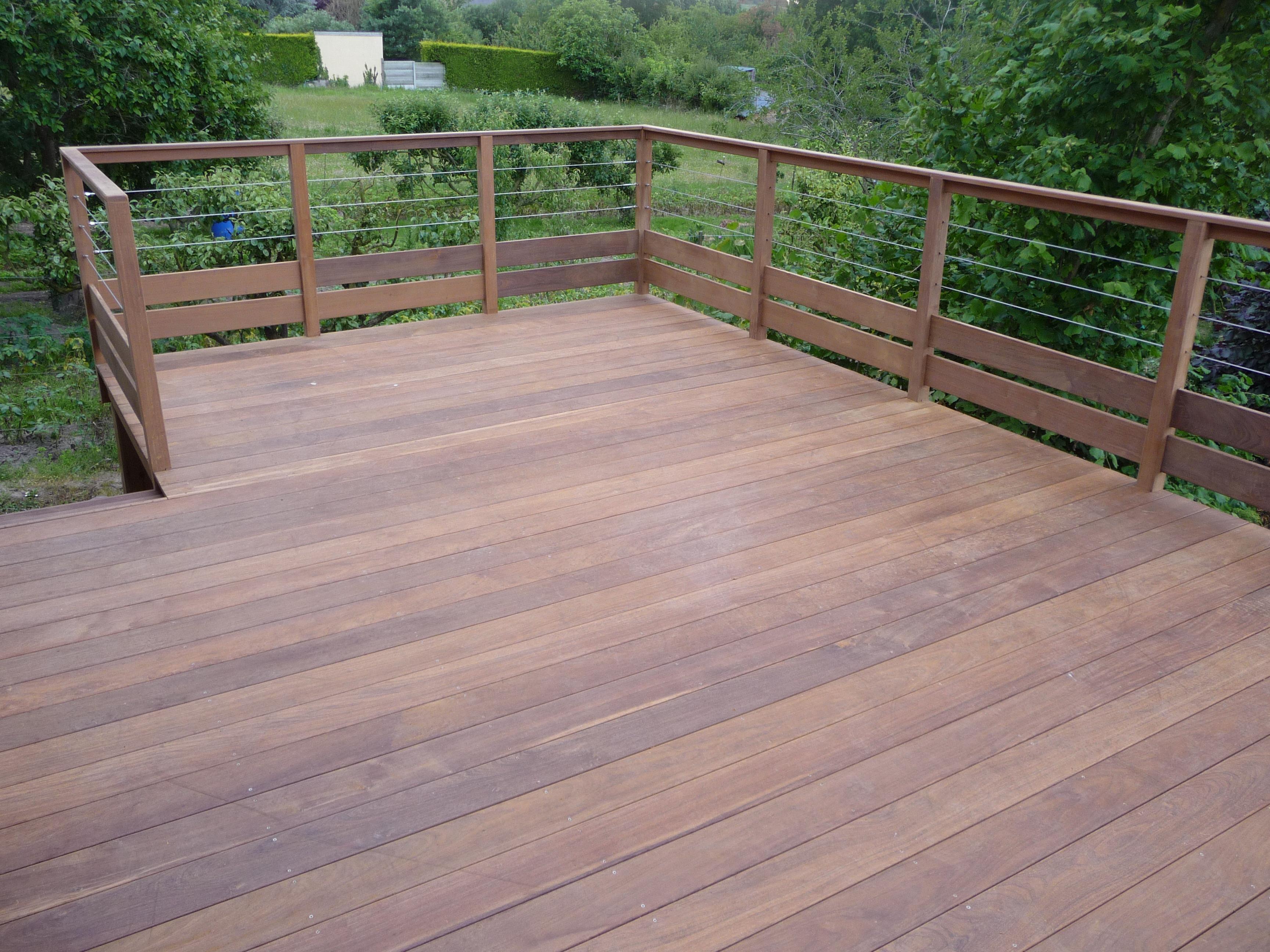 Terrasse suspendue en ipe nos conseils - Terrasse bois suspendue ...